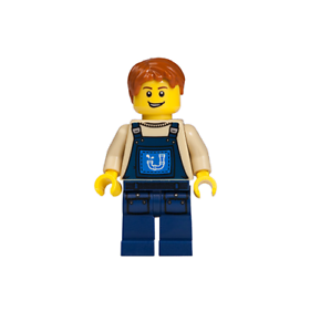 NEW LEGO Alfie the Apprentice FROM SET 70811 THE LEGO MOVIE tlm052