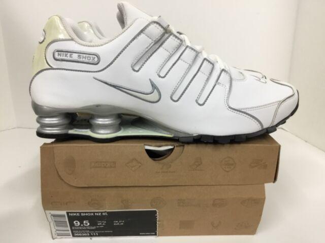 Nike Shox NZ SL White Metallic Silver
