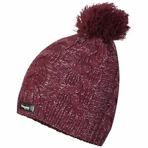 ProClimate-Waterproof-Windproof-Genuine-Thinsulate-Cable-Knit-Beanie-Hat-amp-Lurex