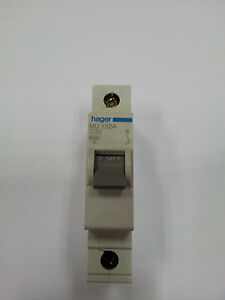 HAGER TYPE 2 M3 5A 15A 32A M10645 M11645 M13245 BS 3871 MCB CIRCUIT BREAKER