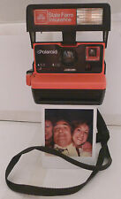 Polaroid 600 Instant Film Camera Business 2 STATE FARM PROMO -Film Tested