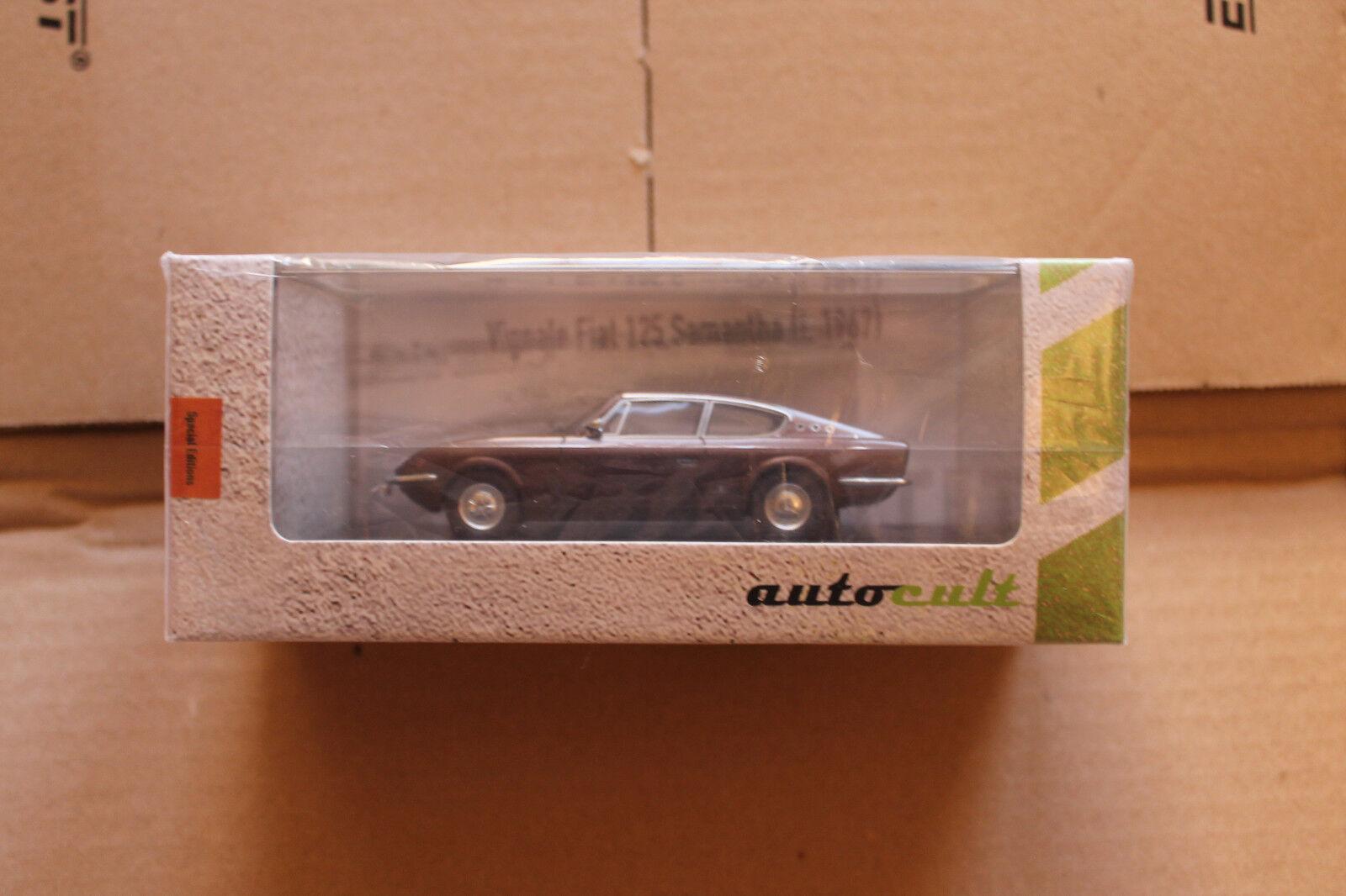 Autocult 1 43  05005 vignale fiat 125 von 1967 samantha