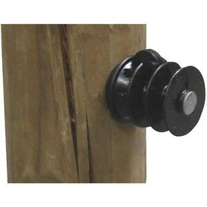 Details About 20 Pk Dare Nail On Wood Post Electric Wire Fence Insulator 25 Pk Elf Wp 25
