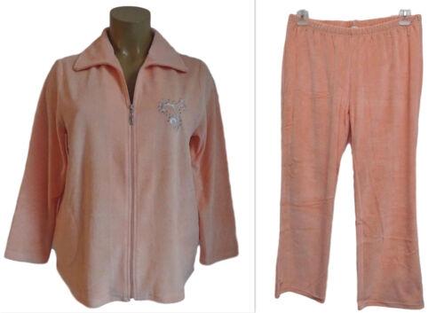 Nouveau Chaussures Femmes Nicki Costume Veste Avec Pantalon dans saumon grande taille 52,54 kurzgröße 25