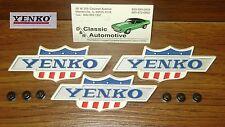 Yenko Emblems 69 Camaro 1969 Yenko 427 Fender 3pc set Officially Licensed Item