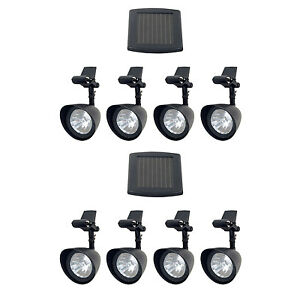 Fusion Products 16904 LED Solar Gazebo Lights with 4 Pivoting Heads, 2-Pack