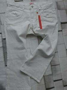 Sheego-Jeans-Ladies-7-8-Trousers-Bermuda-Capri-Pants-Size-44-to-58-White-933