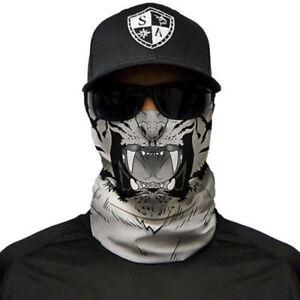 SA Co Salt Army Co Skull Face Biker Neck Tube Warmer Fishing Cycle Snood Shield