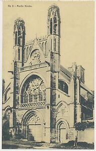 AK Martin Kirche -Ort ? 1.WK (B677) - Bad Kreuznach, Deutschland - AK Martin Kirche -Ort ? 1.WK (B677) - Bad Kreuznach, Deutschland