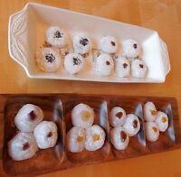 Lot Of 32 Large Mochi Daifuku Rice Cakes 6264 Oz Japanese Chinese Snack Dessert