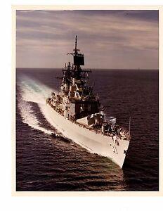 USS STERETT 8X10 PHOTO CG-31 NAVY US USA BELKNAP CLASS DESTROYER SHIP