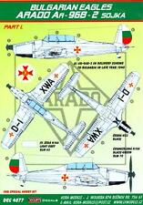 KORA Decals 1/48 ARADO Ar-96B-2 SOJKA Bulgarian Air Force