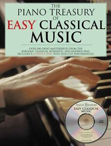 The-Piano-Treasury-of-Easy-Classical-Music-Sheet-Music-Book-and-CD-NEW-014025521