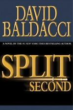 Sean King and Michelle Maxwell: Split Second No. 1 by David Baldacci (2003, Hardcover)