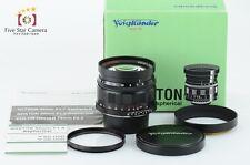 Near Mint!! Voigtlander Nokton 50mm f/1.5 Aspherical L39 Mount Lens from Japan