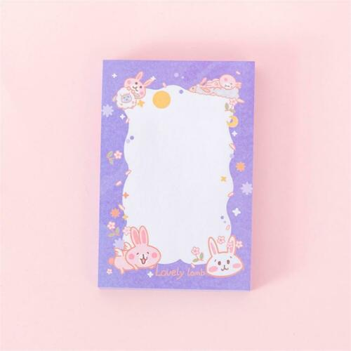 Cartoon Rabbit Memo Pad Sticker Cute N Times Sticky Notes Notepad Office Supply