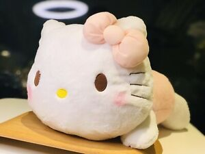 Brand-New-Hello-Kitty-Laying-Down-Plush-Sanrio-Japan-Lying-Soft-Fluffy-Pastel