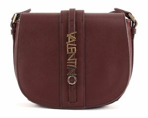 VALENTINO-by-Mario-Valentino-Sea-Winter-Saddle-Bag-Tasche-Bordeaux-Rot