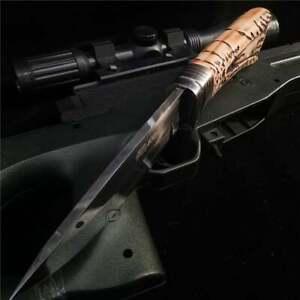 2021New tactical hunting survival tactics fixed knife camping combat equipment