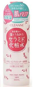 Cezanne-skin-conditioner-high-moist-500-mL-Ceramide-Lotion-made-in-Japan