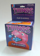 Vintage MB Hasbro T.H.I.N.G.S Flip O Potamus Hyppo Action Skill Game MISB 1986