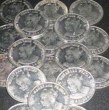 10 Coins LOT - 2003 - MAHARANA PRATAP -  Re 1 STEEL Commemorative Coin india