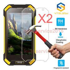 2Pcs 9H+ Tempered Glass Film Screen Protector For Blackview BV6000 / BV6000S