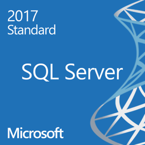 Microsoft SQL Server 2017 Standard 16 Core Unlimited CAL's with original MS USB