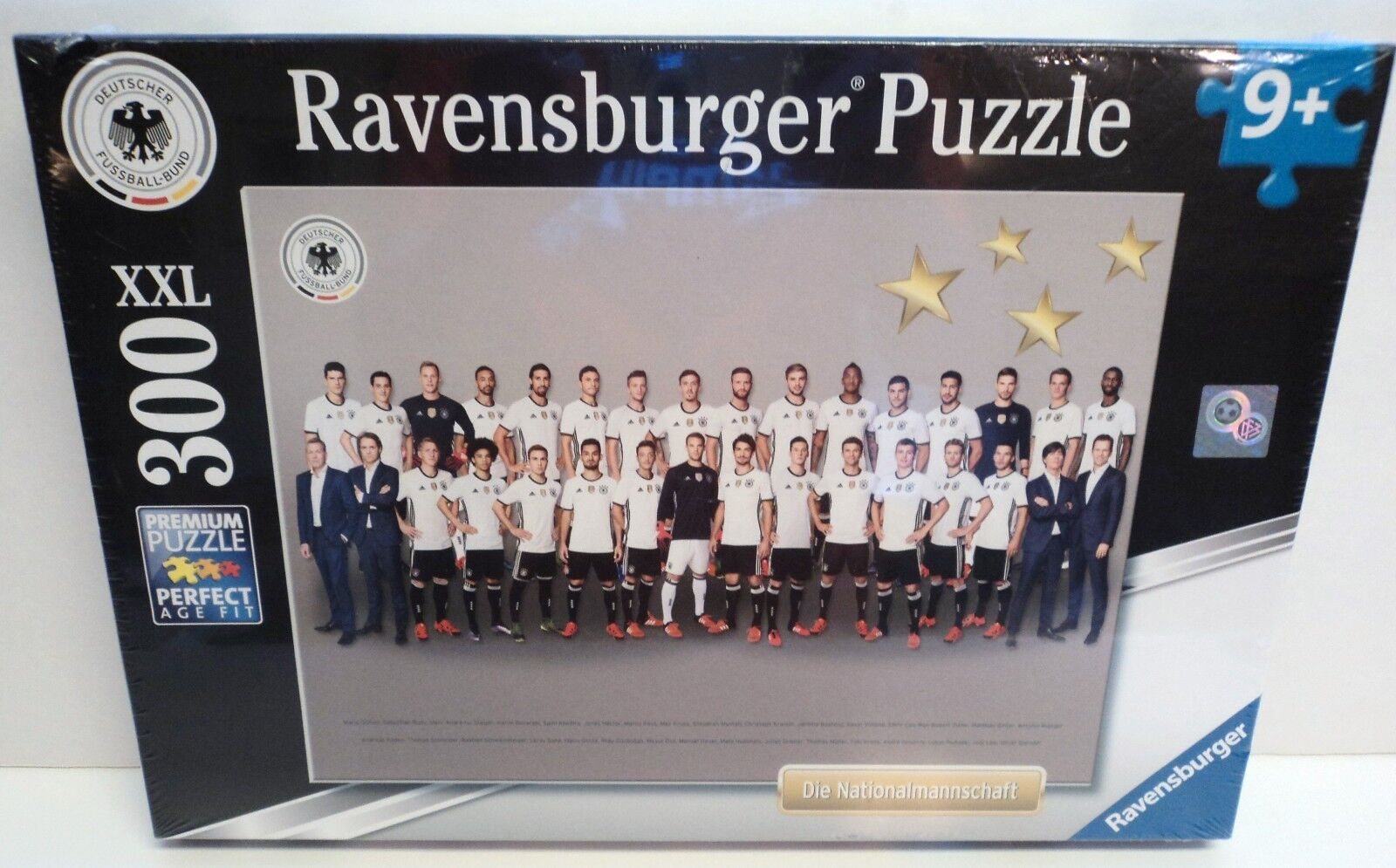 more photos bf505 fae94 Germany National Soccer Team Puzzle - Ravensburger German Futbol