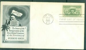 US-FDC-983-FIRST-GOV-OF-PUERTO-RICO-CANCL-APR-27-1948-NOT-ADDR