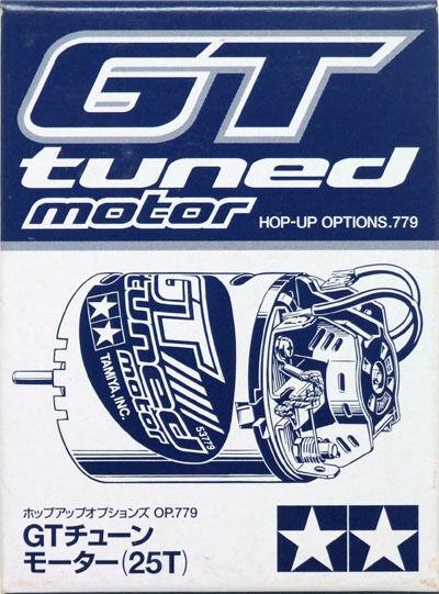 Tamiya 53779 RC On Road Car 540 GT-Tuned Motor 25T 19000RPM@7.2V
