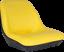 Yellow Tractor Seat fits John Deere 4010 4100 4110 4115 445 455 AM879503