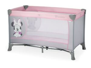 New Pink Minnie Mouse Portable Baby Travel Cot Bed Crib Playpen Play...