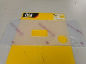 439-6628 CAT CATERPILLAR PLEXIGLASS COVER GAUGE DISPLAY 4396628