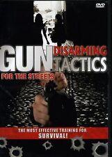 GUN DISARMING TACTICS for the Streets (DVD) self defense martial arts SEALED NEW