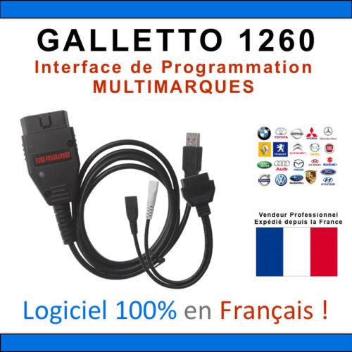 VOLTA Câble Interface GALLETTO 1260 ECM TITANIUM ECUSAFE