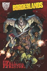 BORDERLANDS THE FALL OF FYRESTONE #2 IDW VIDEO GAME COMIC XBOX360 PS3