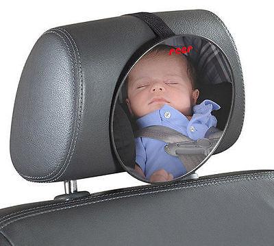 reer 8601 Baby Rücksitzspiegel SafetyView für mehr Sicherheit im Auto bru