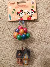 2016 Up Sketchbook Ornament Carl Fredrickson House Balloons Disney Store NWT