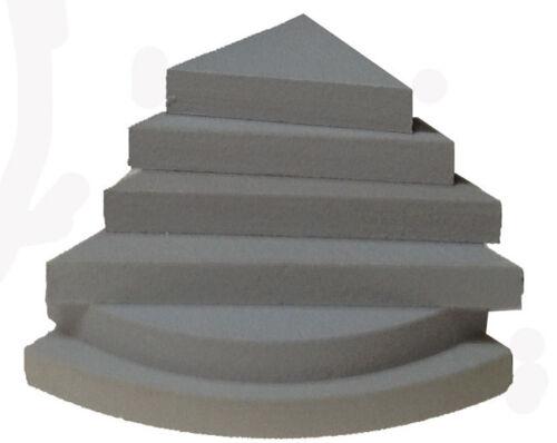 Preformed Waterproof Corner Shower Shelf 14 x 14 x 2 Ready to Tile Made in USA