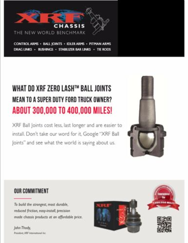 XRF Adjustable Upper Lower Ball Joint Ram 2500 3500 4x4 2014 2015 2016 2017