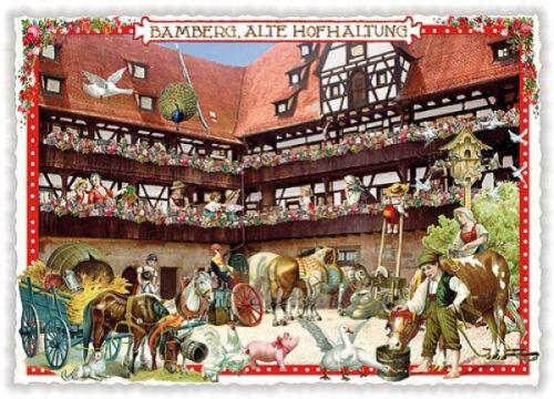 Edition Tausendschön Bamberg PK140 Grußkarte Postkarte Postcrossing Sammelkarte