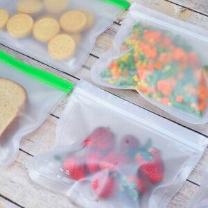 Am-5Pcs-Fresh-Zip-lock-Bag-Reusable-PEVA-Food-Freezer-Storage-Lunch-Sandwich-Ba