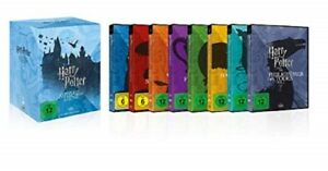 Harry Potter Box Komplettbox Teil 1+2+3+4+5+6+7.1+7.2 NEU OVP 8 DVDs Alle Teile