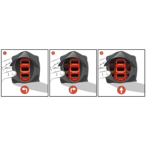 3x Magnetic Car Vehicle Breakdown Hazard Warning Flares Flash Light