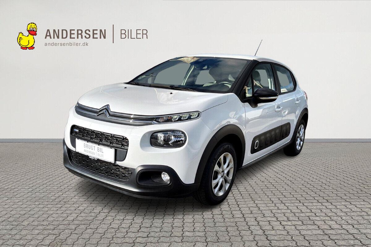 Citroën C3 1,2 PureTech 110 Sport 5d - 127.900 kr.