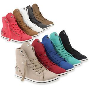 Sportliche-Damen-Sneakers-890340-Trendy-Casual-36-41-Schuhe