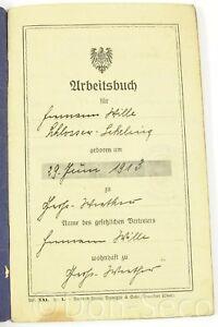 Arbeitsbuch-Deutsches-Reich-1927