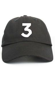 cadfe396ad1 Chance The Rapper 3 Unstructured Dad Hat Adjustable Cap Multi Colors ...