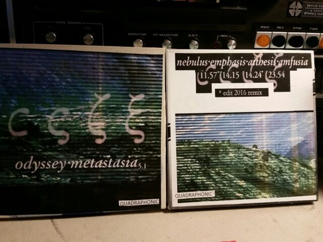 ODYSSEY -Metastasia Vol 1&2 - QUADRAPHONIC Reel tape Q4